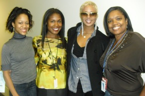 Eva from America's Next Top Model Stopped by WCIU's 'You and Me this Morning' when I interned there