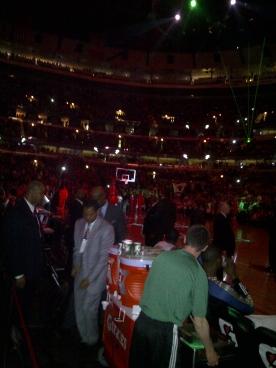Opening of Wizards Vs Bulls