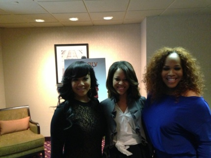 With Mary Mary in New York
