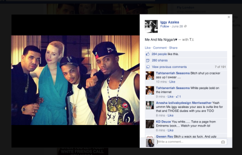 Check out Iggy's Nword Caption